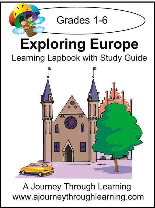 Exploring Europe Lapbook with Study Guide - A Journey Through Learning Lapbooks