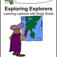 Exploring Explorers Lapbook with Study Guide - A Journey Through Learning Lapbooks