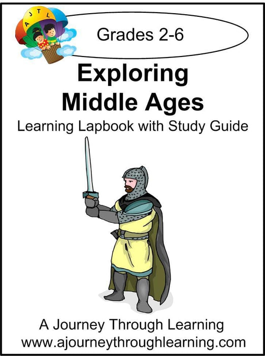 Exploring Middle Ages Lapbook with Study Guide | A Journey Through Learning Lapbooks