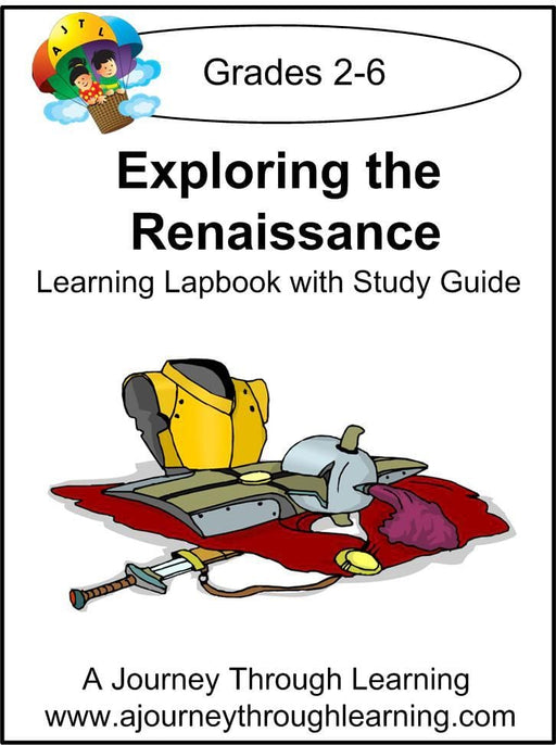 Exploring the Renaissance Lapbook with Study Guide - A Journey Through Learning Lapbooks