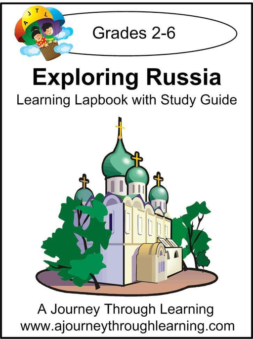 Exploring Russia Lapbook with Study Guide - A Journey Through Learning Lapbooks