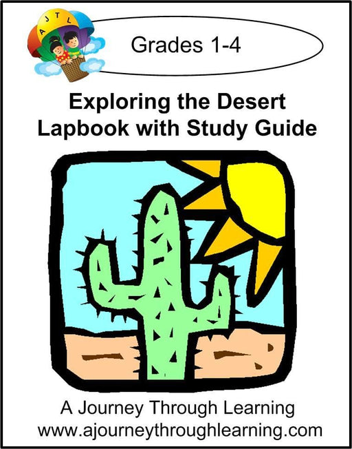 Exploring the Desert Lapbook with Study Guide - A Journey Through Learning Lapbooks