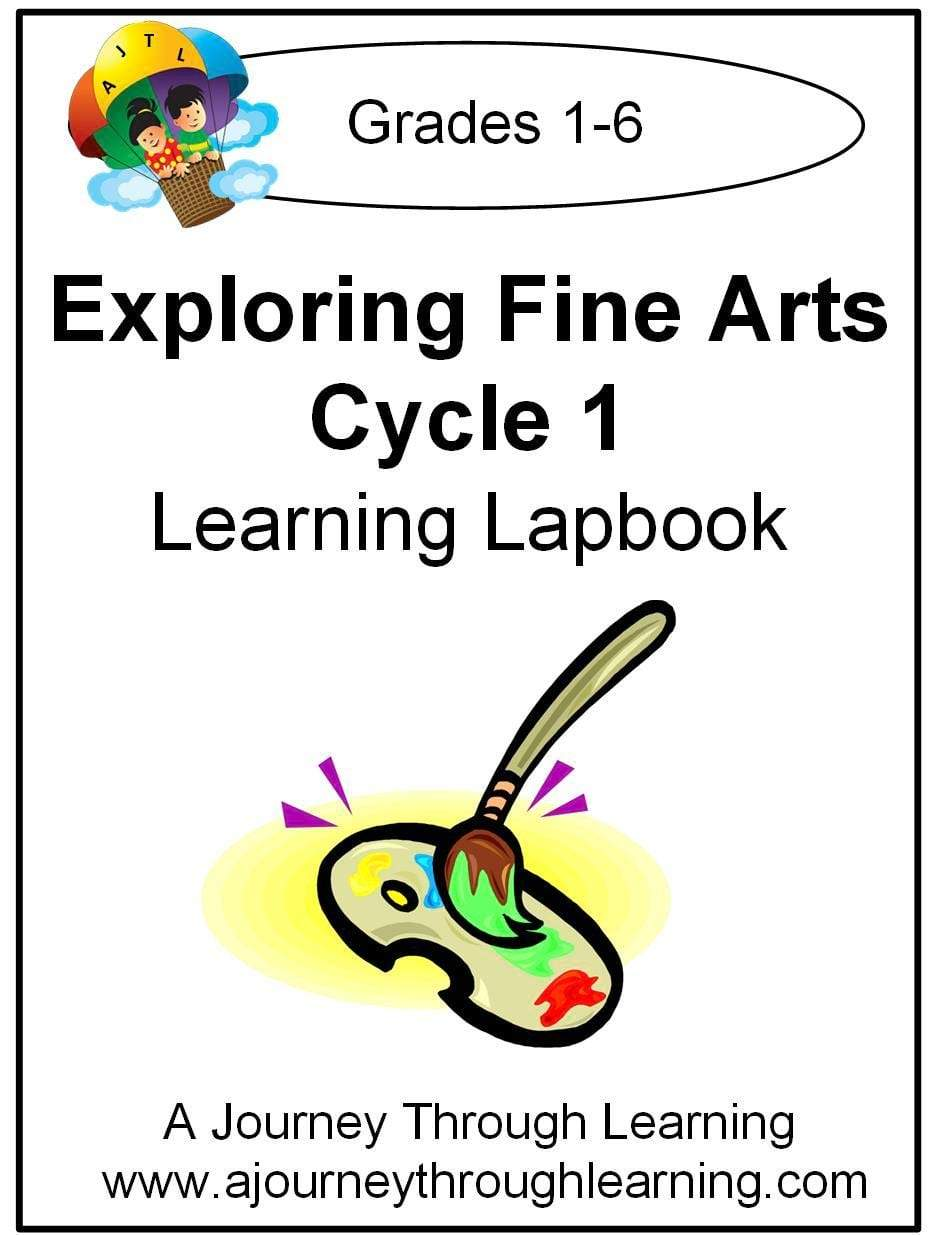 Exploring Fine Arts Classical Conversations Foundations Cycle 1 - A Journey Through Learning Lapbooks