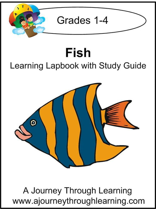 Fish Lapbook with Study Guide - A Journey Through Learning Lapbooks