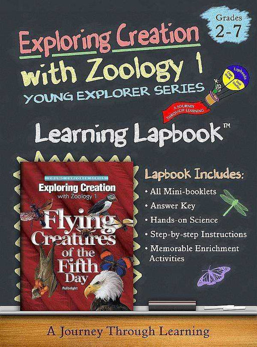 Flying Creatures of the Fifth Day -Jeannie Fulbright/Apologia-Zoology 1 Lapbook - A Journey Through Learning Lapbooks