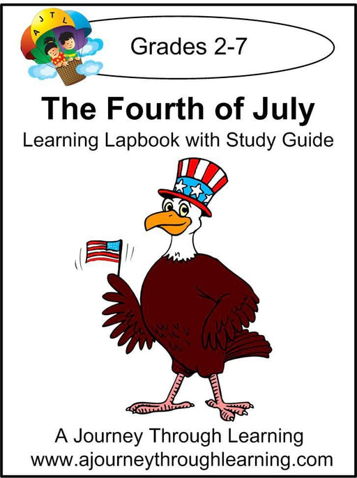 Fourth of July Lapbook with Study Guide | A Journey Through Learning Lapbooks