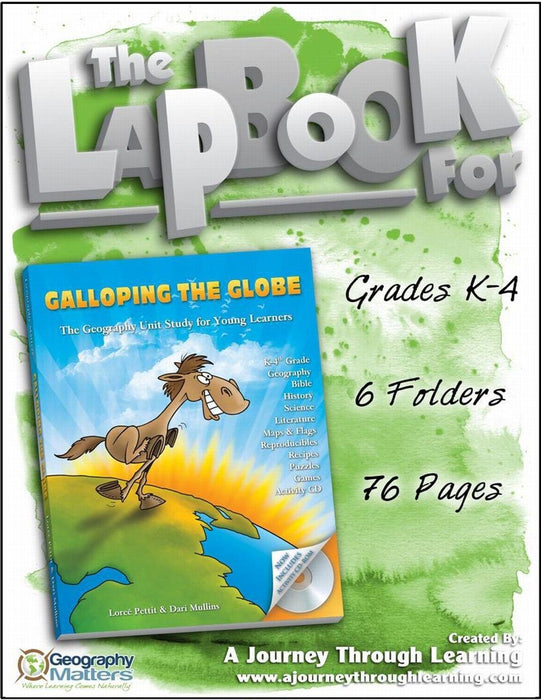 Galloping the Globe Lapbook - A Journey Through Learning Lapbooks