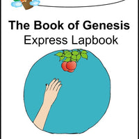 Book of Genesis Express Lapbook - A Journey Through Learning Lapbooks