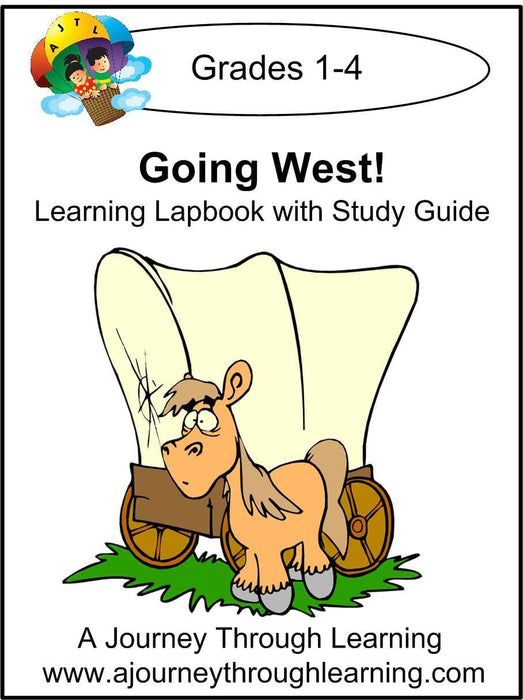 Going West with Study Guide | A Journey Through Learning Lapbooks