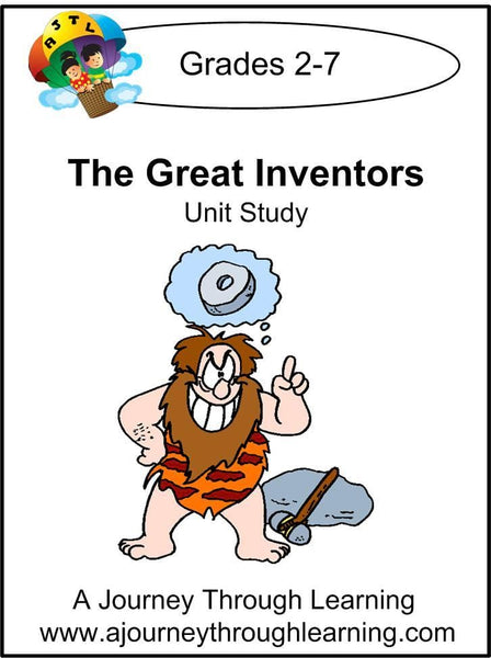 Inventors Unit Study - A Journey Through Learning Lapbooks