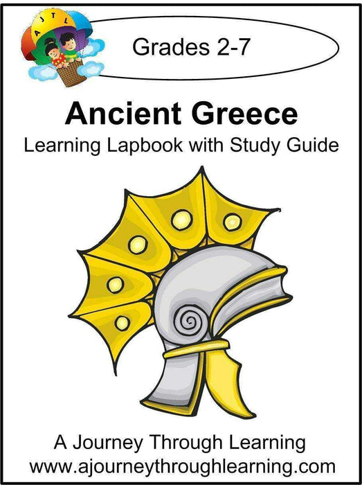 Ancient Greece Lapbook with Study Guide - A Journey Through Learning Lapbooks