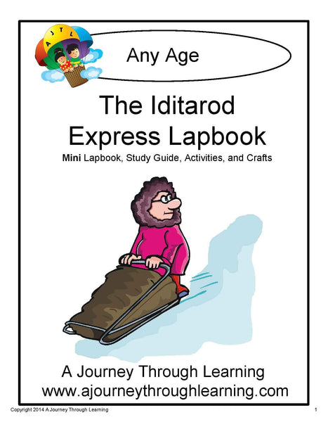 Iditarod Express Lapbook - A Journey Through Learning Lapbooks