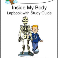 Inside my Body Lapbook with Study Guide - A Journey Through Learning Lapbooks