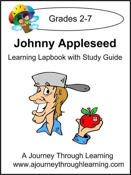 Johnny Appleseed Lapbook with Study Guide - A Journey Through Learning Lapbooks