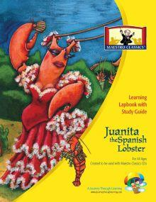 Maestro Classics Juanita the Spanish Lobster Lapbook | A Journey Through Learning Lapbooks