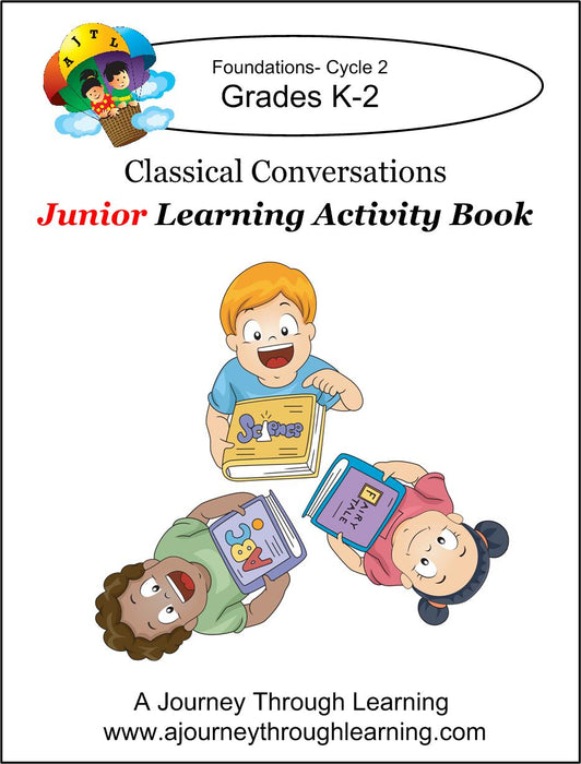 Classical Conversations JUNIOR Learning Activity Book 5th Edition Cycle 2 - A Journey Through Learning Lapbooks