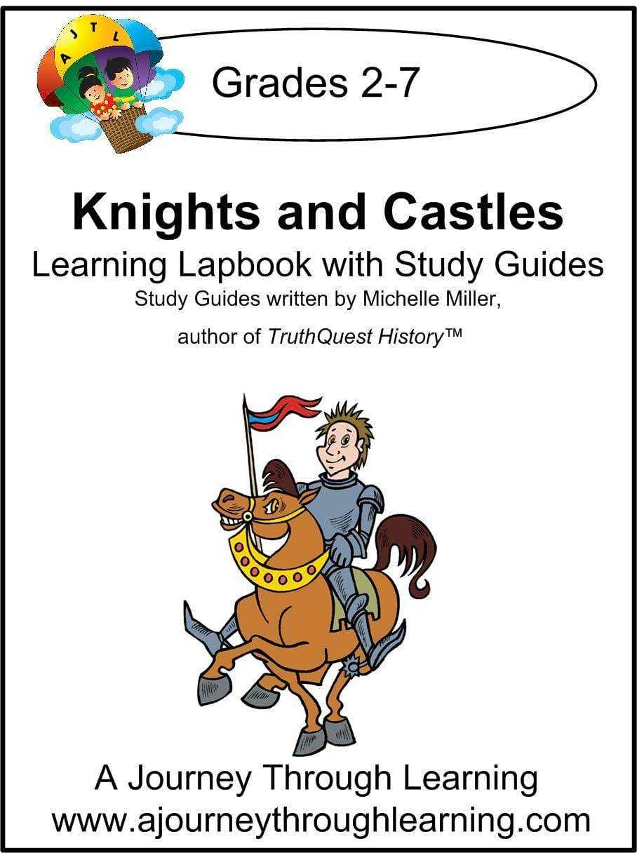 Knights and Castles Lapbook with Study Guide - A Journey Through Learning Lapbooks