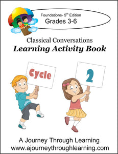 Classical Conversations Learning Activity Book 5th Edition Cycle 2 - A Journey Through Learning Lapbooks