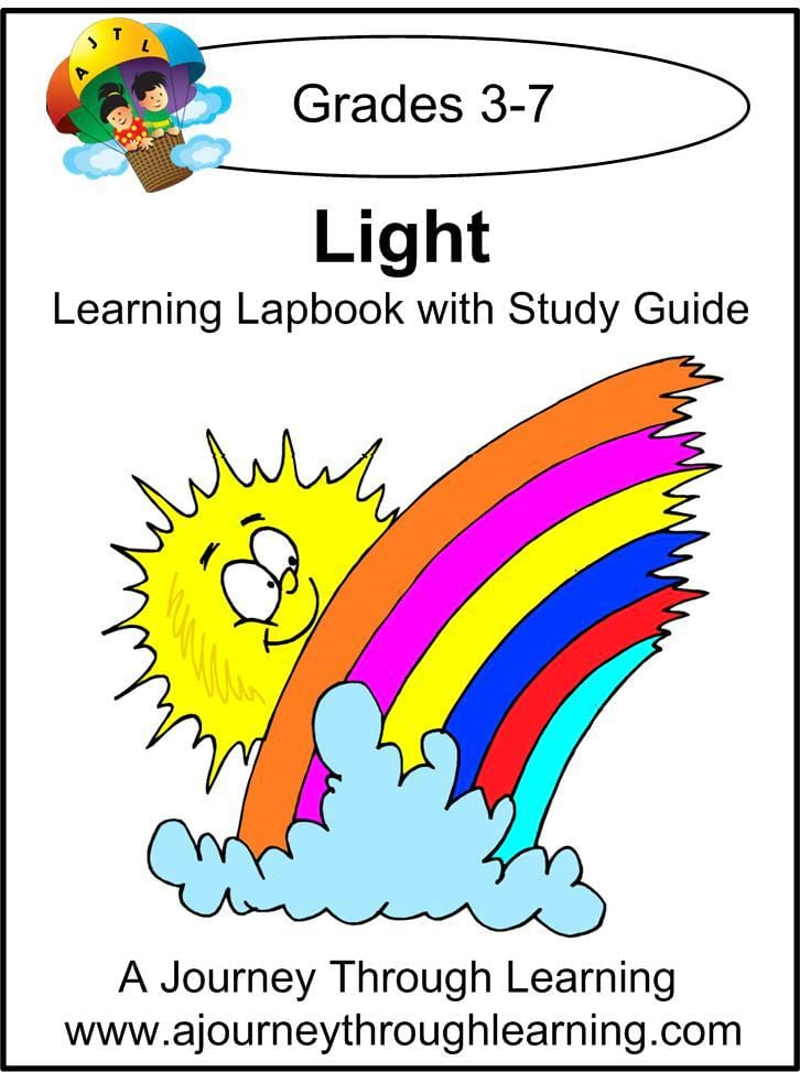 Light Lapbook with Study Guide - A Journey Through Learning Lapbooks