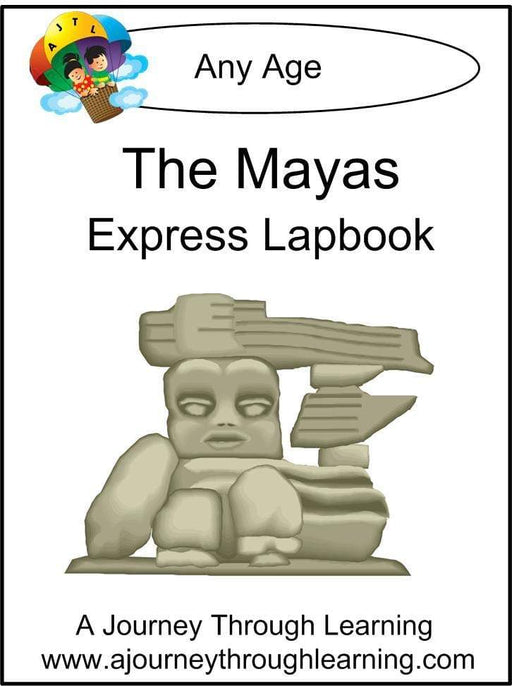 Mayas Express Lapbook - A Journey Through Learning Lapbooks