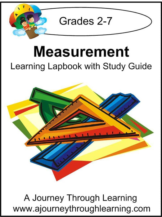 Measurement Lapbook - A Journey Through Learning Lapbooks