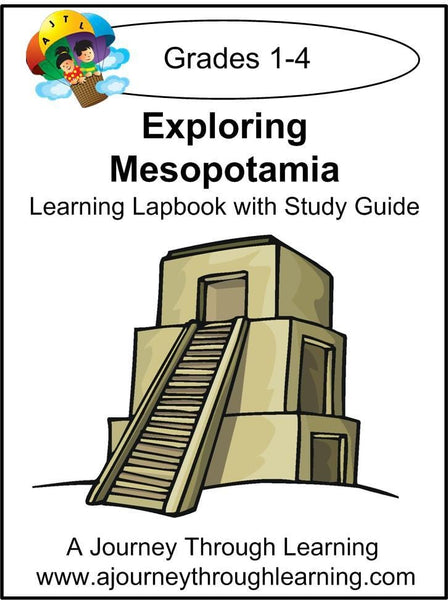 Exploring Mesopotamia Lapbook with Study Guide - A Journey Through Learning Lapbooks