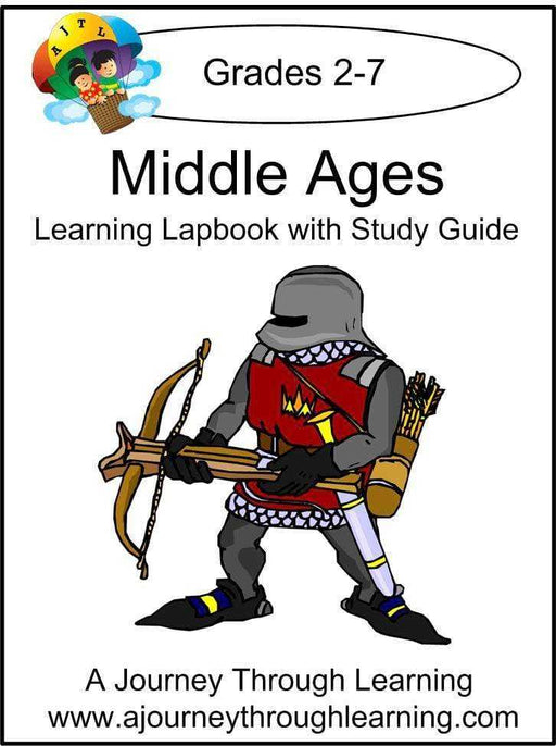 Middle Ages Lapbook with Study Guide - A Journey Through Learning Lapbooks