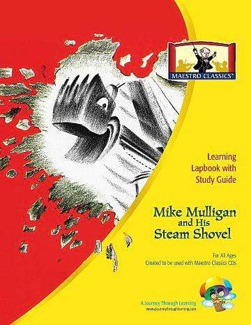 Maestro Classics Mike Mulligan and his Steam Shovel Lapbook | A Journey Through Learning Lapbooks