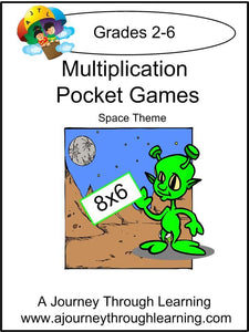 Multiplication Pockets Lapbook - A Journey Through Learning Lapbooks