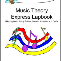 Music Theory Express Lapbook - A Journey Through Learning Lapbooks