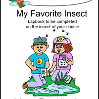 My Favorite Insect Lapbook - A Journey Through Learning Lapbooks