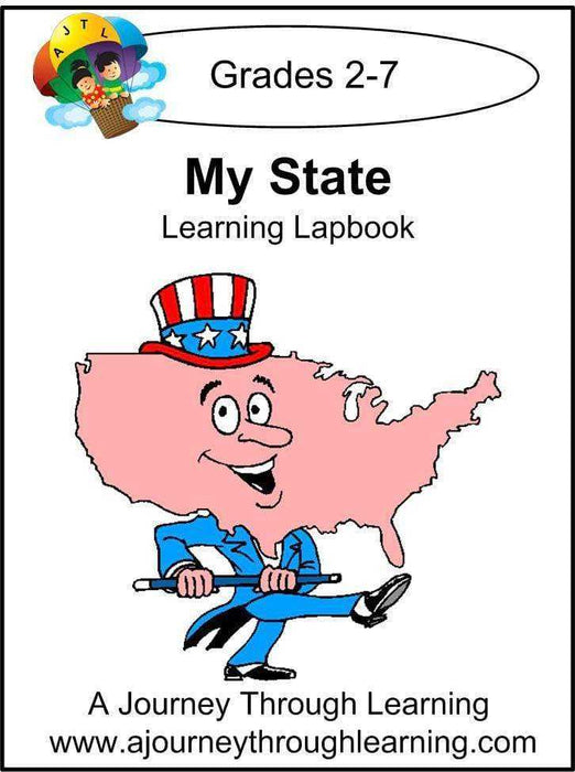My State Lapbook - A Journey Through Learning Lapbooks