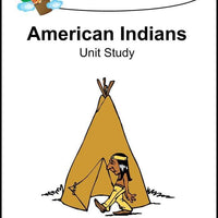 American Indians Unit Study - A Journey Through Learning Lapbooks