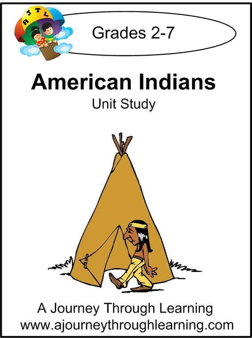 American Indians Unit Study | A Journey Through Learning Lapbooks