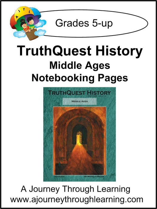 Middle Ages Supplements $13-$18 - A Journey Through Learning Lapbooks