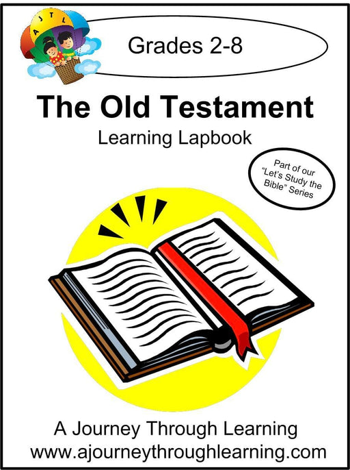 Old Testament Lapbook with Study Guide - A Journey Through Learning Lapbooks