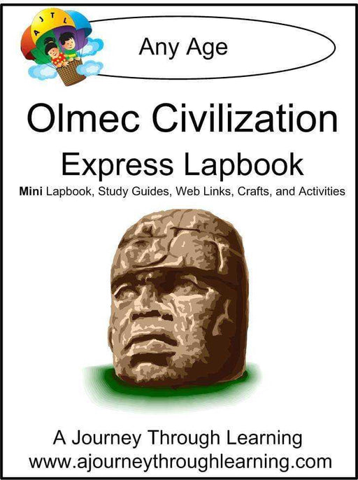 Olmec Express Lapbook - A Journey Through Learning Lapbooks