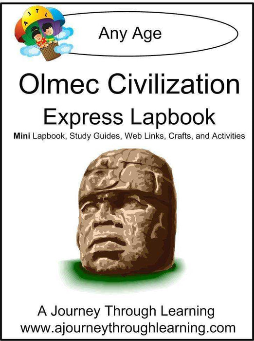 Olmec Express Lapbook | A Journey Through Learning Lapbooks