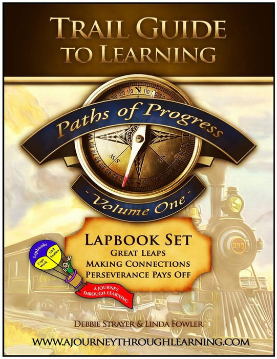 Paths of Progress Volume 1 Lapbook | A Journey Through Learning Lapbooks