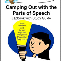 Parts of Speech Lapbook - A Journey Through Learning Lapbooks