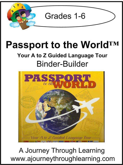 Passport to the World Binder-Builder - A Journey Through Learning Lapbooks