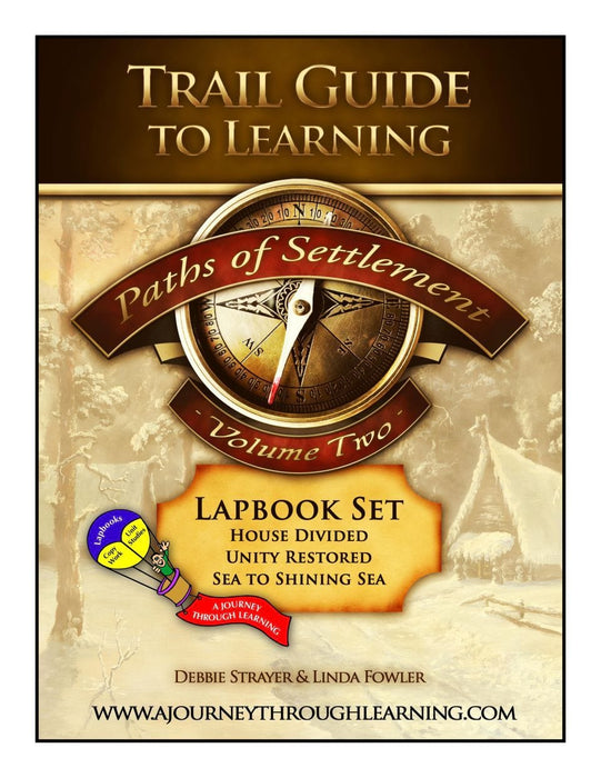 Paths of Settlement Volume 2 Lapbook | A Journey Through Learning Lapbooks