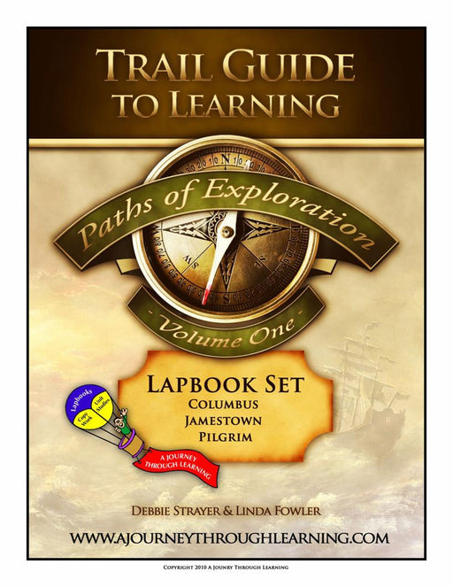 Paths of Exploration Volume 1 Lapbook - A Journey Through Learning Lapbooks