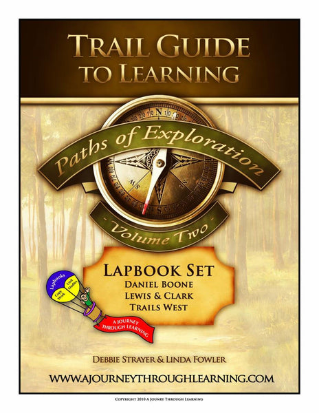 Paths of Exploration Volume 2 Lapbook - A Journey Through Learning Lapbooks