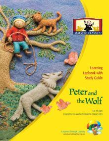 Maestro Classics Peter and the Wolf Lapbook - A Journey Through Learning Lapbooks
