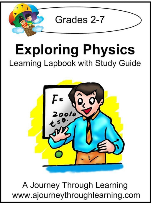 Exploring Physics Lapbook with Study Guide - A Journey Through Learning Lapbooks