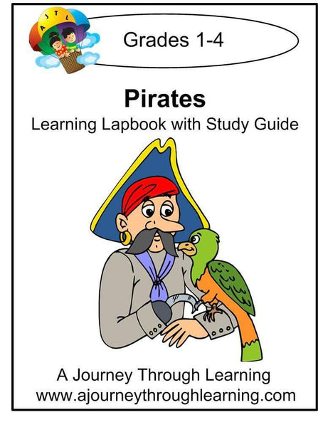 Pirates Lapbook with Study Guide - A Journey Through Learning Lapbooks