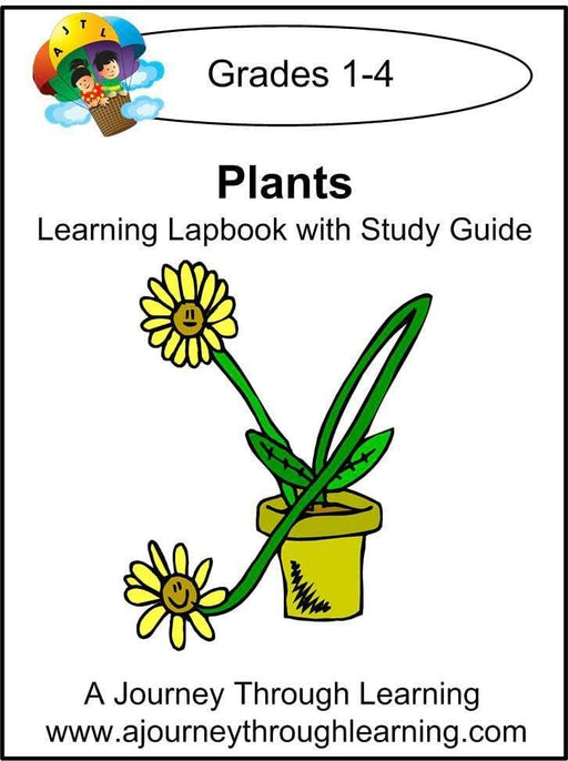 Plants Lapbook with Study Guide - A Journey Through Learning Lapbooks
