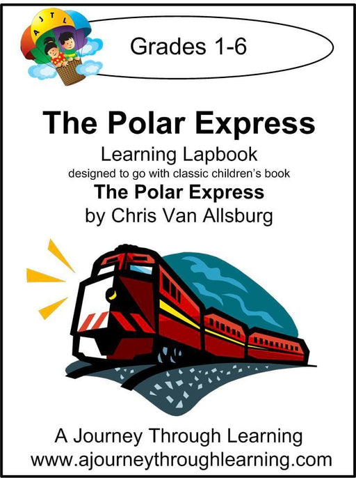 Polar Express Lapbook with Study Guide - A Journey Through Learning Lapbooks