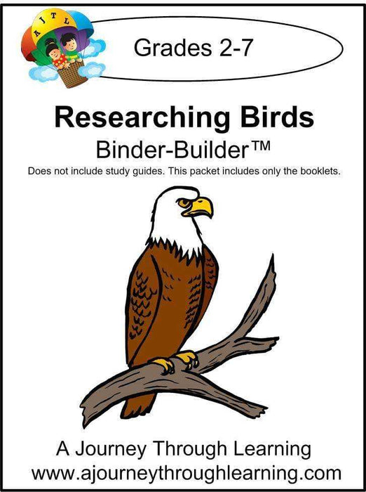 Researching Birds Binder-Builder - A Journey Through Learning Lapbooks